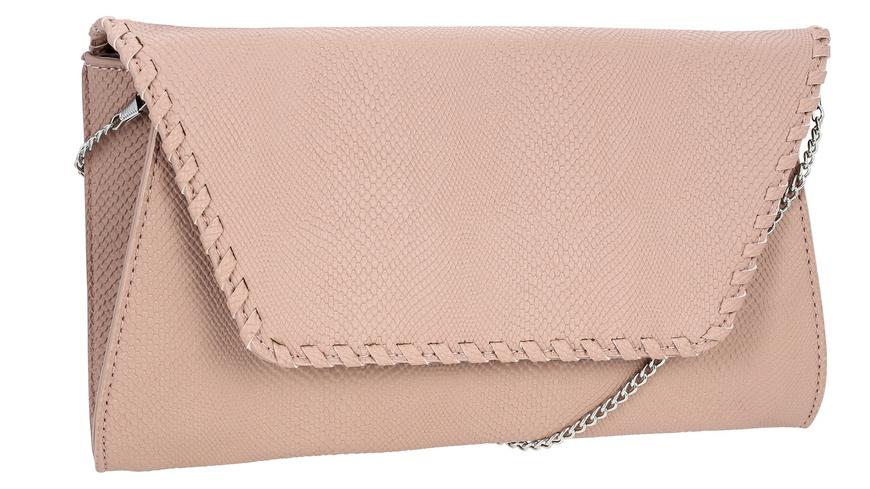 Handtasche - Rosé Snake