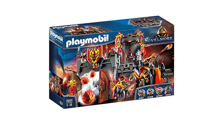 PLAYMOBIL® 70221 NOVELMORE Festung Feuerfels