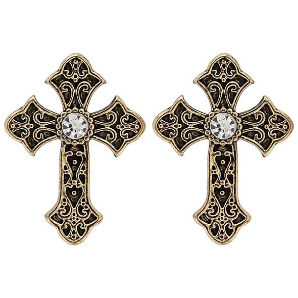 Ohrstecker - Little Cross