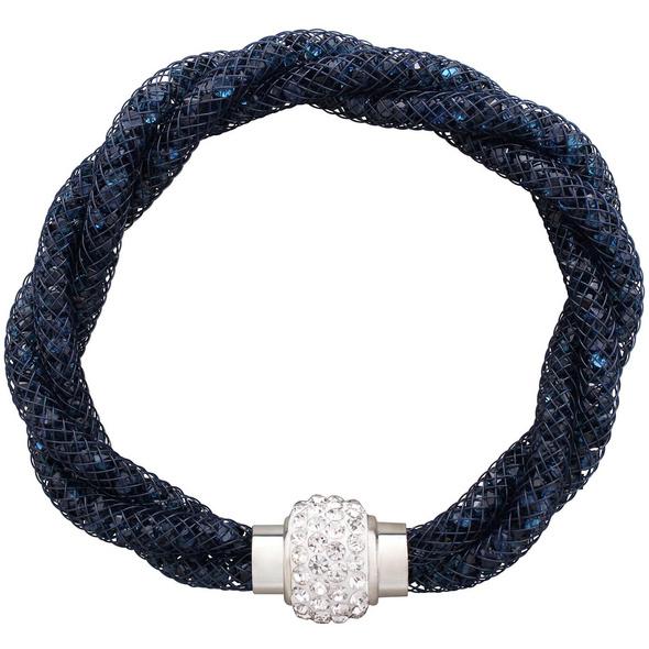 Armband - Dark Blue Mesh