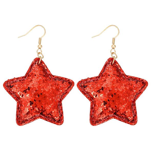 Ohrhänger - Red Star
