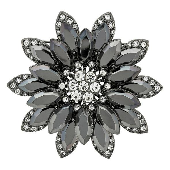 Brosche - Flower Stone