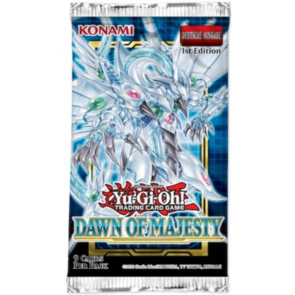 Yu-Gi-Oh! Trading Card Game: Dawn of Majesty - Booster Pack