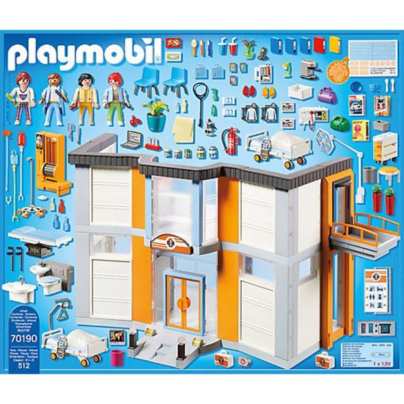 PLAYMOBIL® 70190 Großes Krankenhaus mit Einrichtung