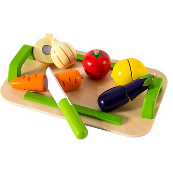Schneidebrett Gemüse, 12 tlg.