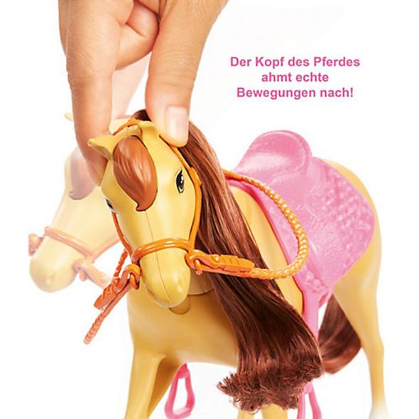 Barbie Reitspaß mit Barbie (blond), Chelsea, Pferd und Pony, Pferde Spielzeug