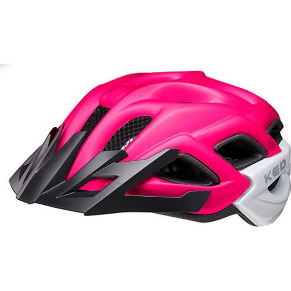 Fahrradhelm Status Jr. pink purple matt