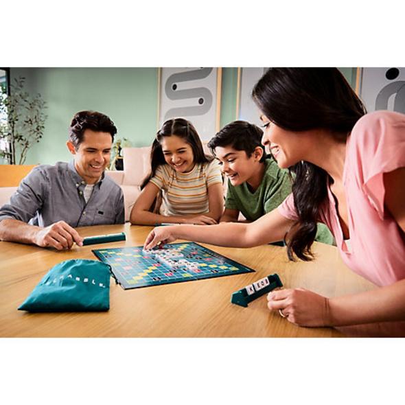 Mattel Games Scrabble Original, Gesellschaftsspiel, Brettspiel, Familienspiel