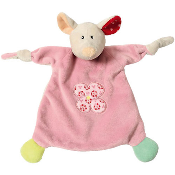 Schmusetuch Maus 25x25cm für Babys (39248)