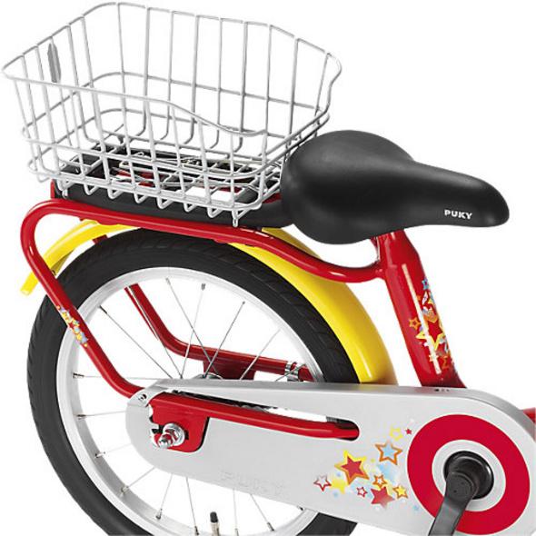 Gepäckträgerkorb Fahrrad GK Z, silber