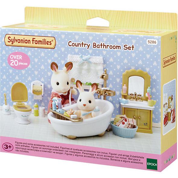 Sylvanian Families Badezimmer im Landhausstil