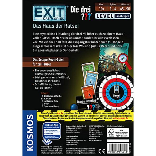 EXIT - Das Spiel - Die drei ??? - Das Haus der Rätsel - Level Einsteiger