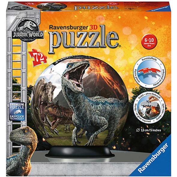 puzzleball® Ø13 cm, 72 Teile , Jurassic World 2