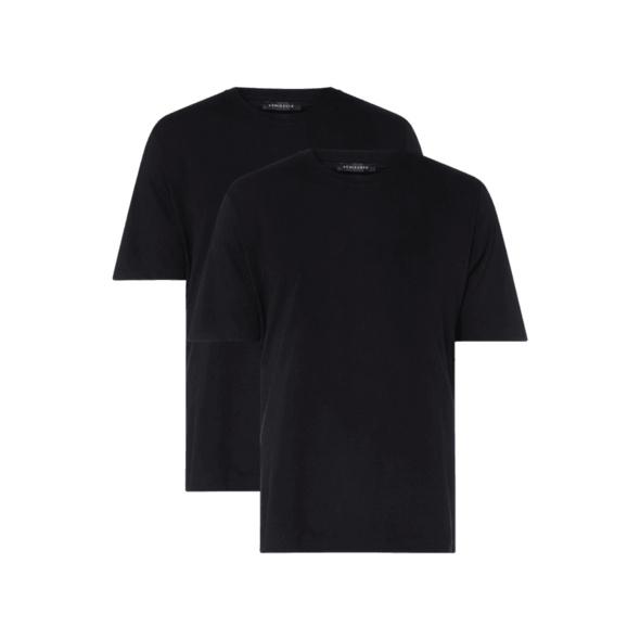 T-Shirt aus Baumwolle im 2er-Pack