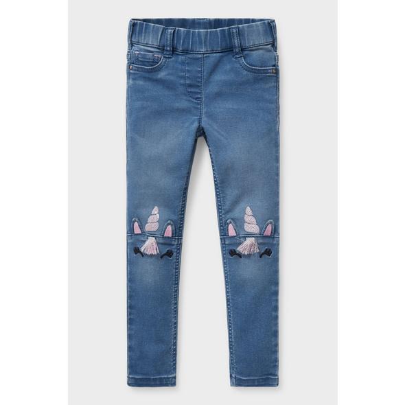 Jegging Jeans - Glanz-Effekt