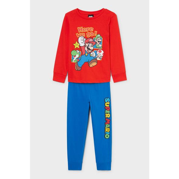 Super Mario - Pyjama - Bio-Baumwolle - 2 teilig