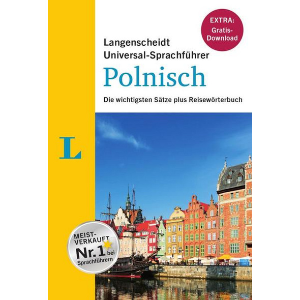 """Langenscheidt Universal-Sprachführer Polnisch - Buch inklusive E-Book zum Thema """"Essen & Trinken"""""""