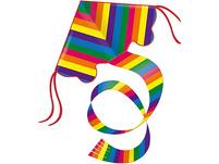 Rainbow Einleinerdrachen