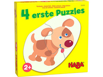 4 erste Puzzles – Tierkinder