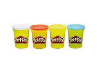 Play-Doh Knet-Dosen 4er Pack Grundfarben