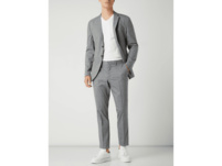 Slim Fit Anzughose mit Stretch-Anteil Modell 'Logan'