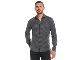 Langarm-Hemd aus Jersey