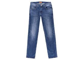 Modisch gewaschene Jeans mit schmaler Passform