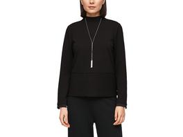 Sweatshirt mit Rippstruktur - Sweatshirt