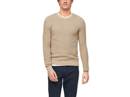 Pullover mit Rippstruktur - Strickpullover