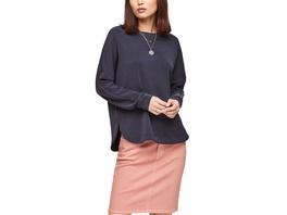 Fledermausshirt im Scuba-Look - Sweatshirt