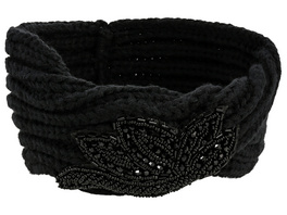 Stirnband - Black Sequins