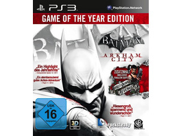 Warner Interactive Batman Arkham City Game of the Year Edition