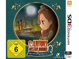 Nintendo Layton`s Mystery Journey: Katrielle und die Verschwörung der Millionäre