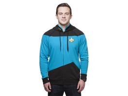 Raumschiff Enterprise – Das nächste Jahrhundert - Hoodie Blau (Größe M)