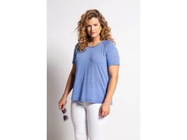 T-Shirt, Litzenbänder, Regular, Rundhalsausschnitt