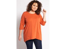 Shirt, Zierknöpfe, A-Linie, 3/4-Arm, Biobaumwolle
