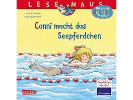 Lesemaus: Conni macht das Seepferdchen