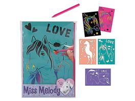 Miss Melody Rubbelbilderset