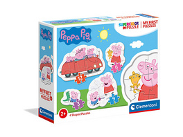Puzzle 3+6+9+12 Teile, My First Puzzles - Peppa Pig