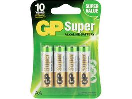 Batterien 4er Blister (AA, Mignon, LR 06, AM-3, UM-3)