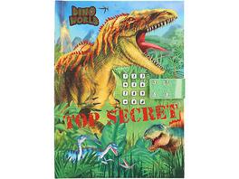 Dino World Geheimcode Tagebuch mit Sound