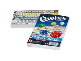 Qwixx Zusatzblöcke