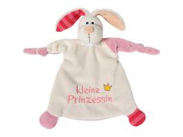 Schmusetuch Hase kleine Prinzessin 25x25cm für Babys (40042)