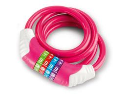 Kinder-Fahrradschloss, pink