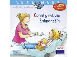 Lesemaus Meine Freundin Conni: Conni geht zur Zahnärztin