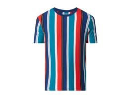 Regular Fit T-Shirt mit Streifenmuster Modell 'Dustin'