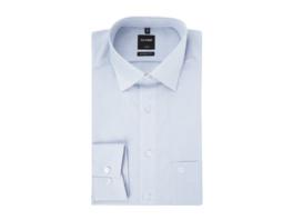 Regular Fit Business-Hemd aus Popeline mit extra langem Arm