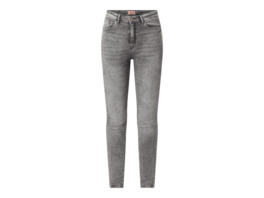 Skinny Fit Jeans mit Stretch-Anteil Modell 'Paola'