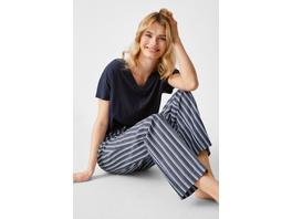 Pyjamahose - gestreift