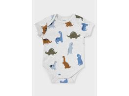 Dino - Baby-Body - Bio-Baumwolle